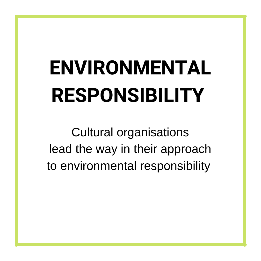 Image of a square with the words Environmental Responsibility